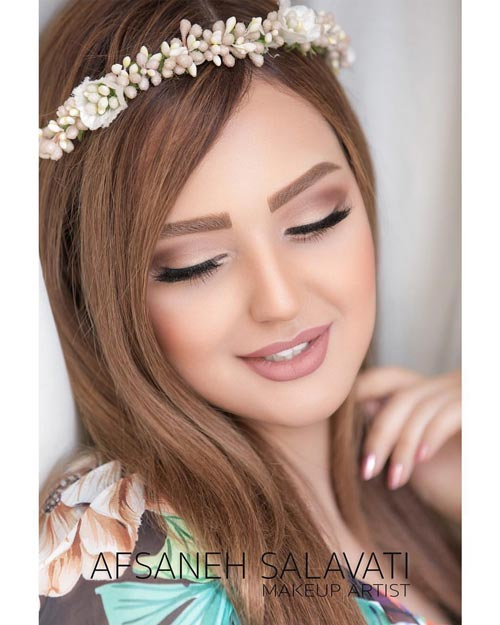 Afsaneh Salavati beauty salon