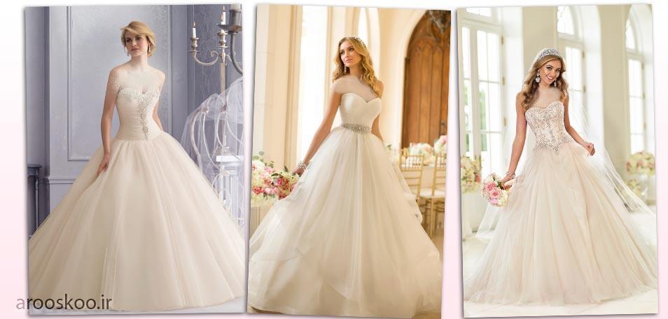 مدل های لباس عروس کالکشن 2018 ژورنالی