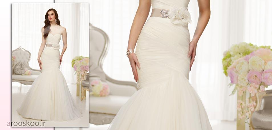 لباس عروس مدل ماهی ، از جدیدترین کالکشن های مد و زیبایی 2018