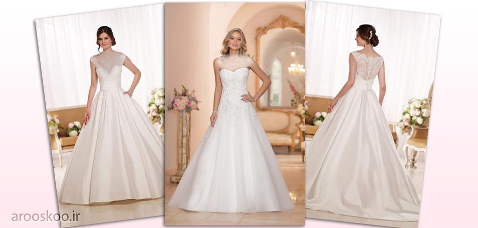 مدل لباس عروس اسکارلت در کالکشن برتر جهانی